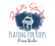 Playing For Keeps Piano Logo